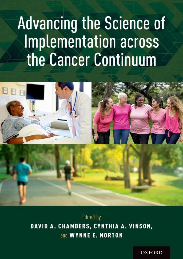 Cover of Advancing the Science of Implementation across the Cancer Continuum
