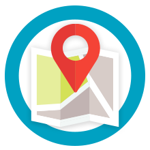 Geographically Underserved Areas Icon